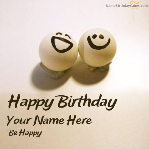 Write Name On Happy Birthday Wish