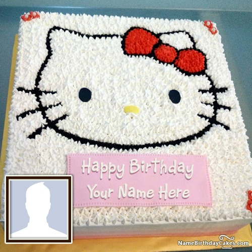 Miraculous Hello Kitty Birthday Cake For Children Special Day Personalised Birthday Cards Cominlily Jamesorg