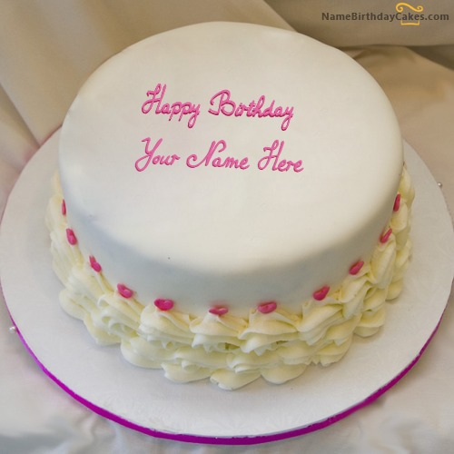 Images Of Birthday Cake With Name Ritu : Icecream Birthday Cake For Sister With Name