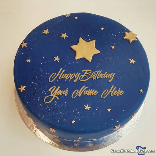 Write Name On Images Of Birthday Cake For Friend