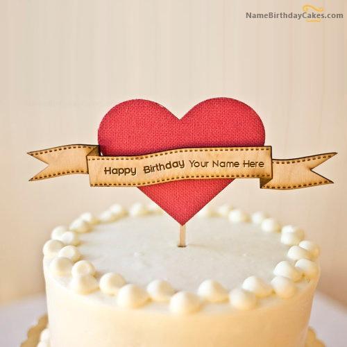 Cool Unique Happy Birthday Cake With Name
