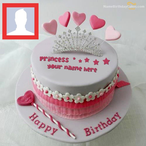 Princess Cake With Name