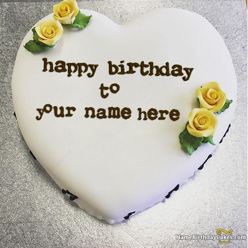 Images Of Birthday Cake For Friend : Happy Birthday Cakes for Friend With Name