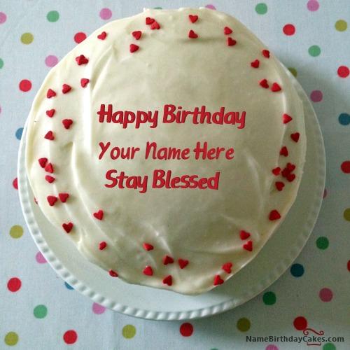 Red Velvet Cake For Lover With Name