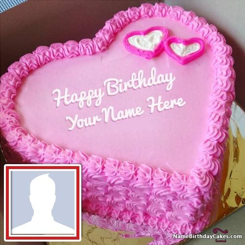 Tremendous Romantic Birthday Cake For My Boyfriend With Name Personalised Birthday Cards Sponlily Jamesorg