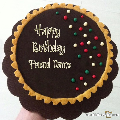 Images Of Birthday Cakes For Special Friend : Happy Birthday Cakes for Friend With Name