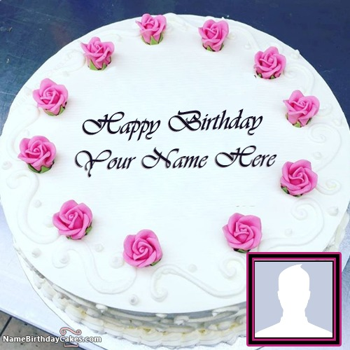 Write Name On Special Happy Birthday Mother Cake With Name And Photo