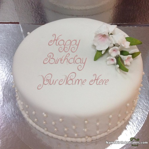 Romantic Birthday Cakes for Husband With Name & Photo ...