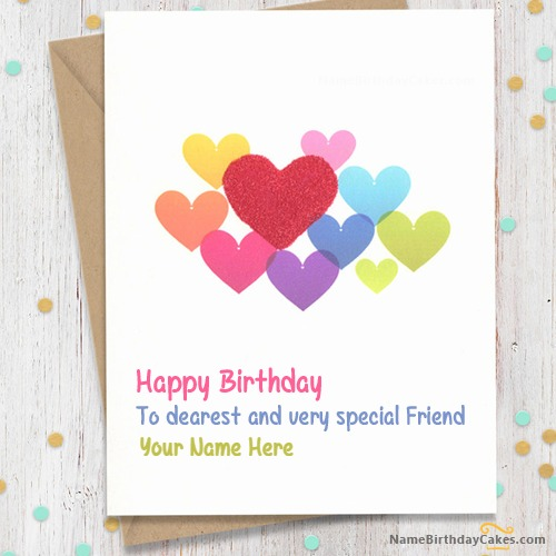 Sweet Birthday Card For Friends