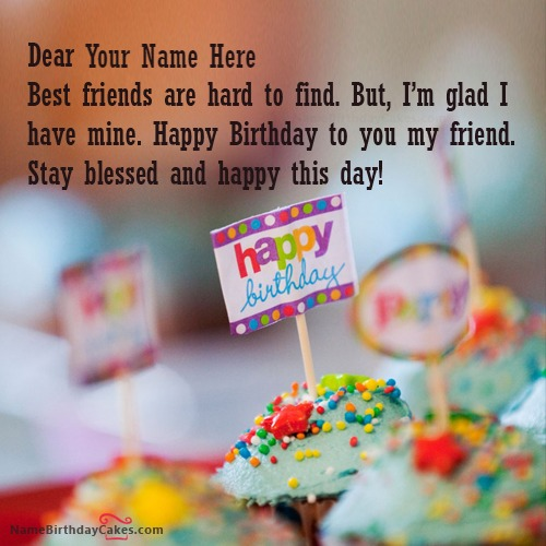 Sweet Birthday Wishes With Name
