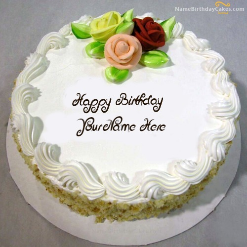 Free Happy Birthday Brother Images Of Cake With Name And Photo
