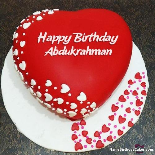 Happy Birthday Abdukrahman Cakes, Cards, Wishes