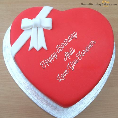 Love You Forever Birthday Cake
