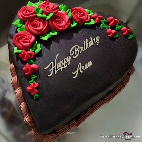 Happy Birthday Aran Cakes, Cards, Wishes