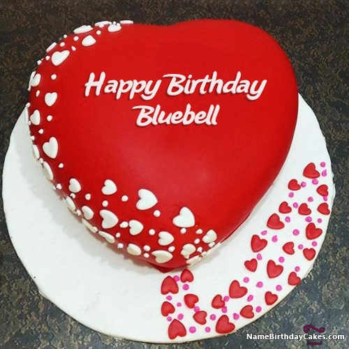Astonishing Happy Birthday Bluebell Cakes Cards Wishes Funny Birthday Cards Online Alyptdamsfinfo