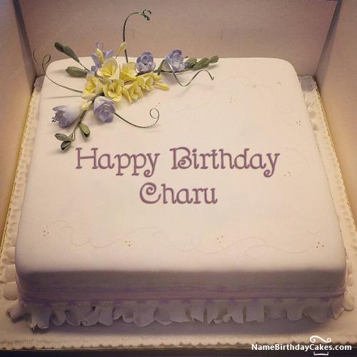 Happy Birthday Charu Cakes, Cards, Wishes