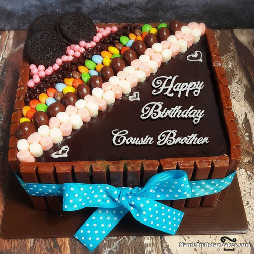Awesome Happy Birthday Cousin Brother Cakes Cards Wishes Funny Birthday Cards Online Aboleapandamsfinfo