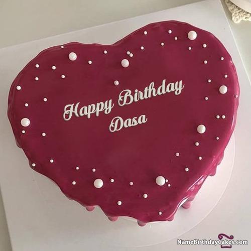Happy Birthday Dasa Cakes, Cards, Wishes