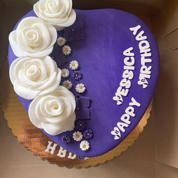 Wondrous Happy Birthday Jessica Cakes Cards Wishes Funny Birthday Cards Online Inifodamsfinfo