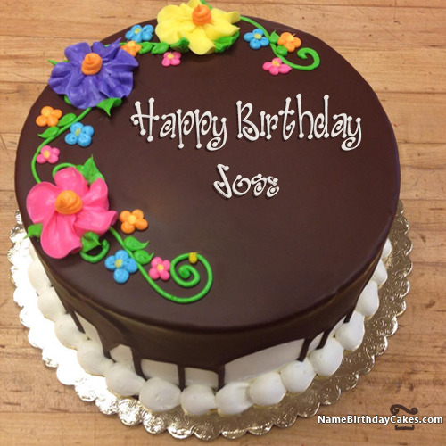 Happy Birthday Jose Cakes, Cards, Wishes