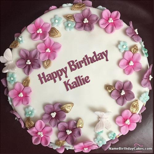 Happy Birthday Kallie Cakes, Cards, Wishes