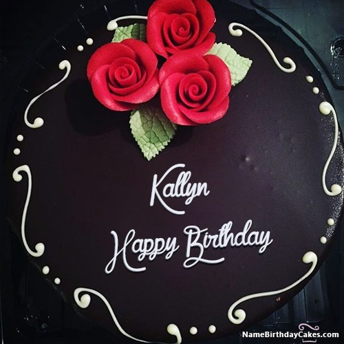 Happy Birthday Kallyn Cakes, Cards, Wishes