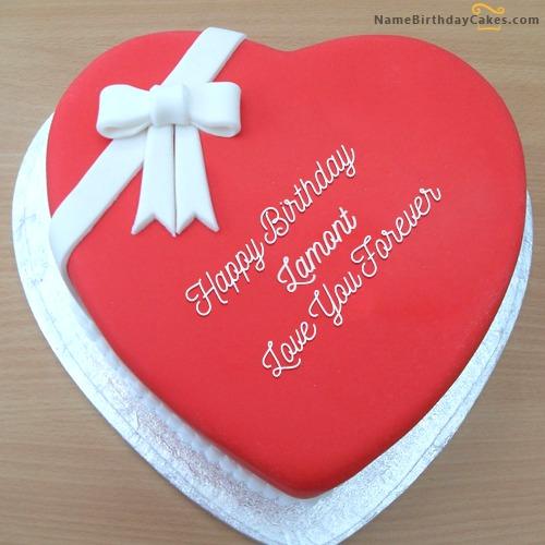 Happy Birthday Lamont Cakes, Cards, Wishes