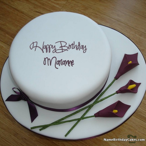 happy birthday marianne cakes cards wishes