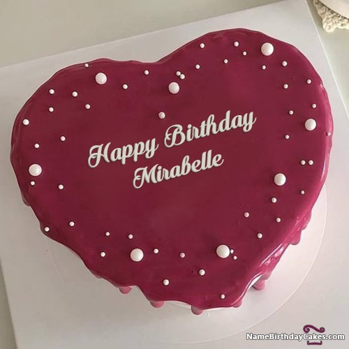 Happy Birthday Mirabelle Cakes, Cards, Wishes
