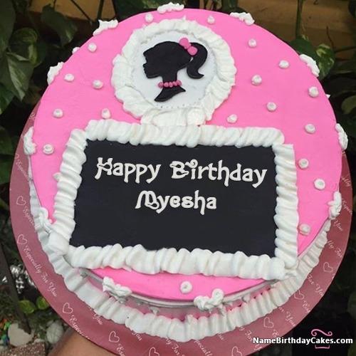 Happy Birthday Myesha Cakes, Cards, Wishes