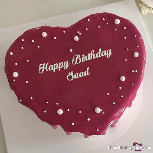 Happy Birthday Saad Cakes, Cards, Wishes
