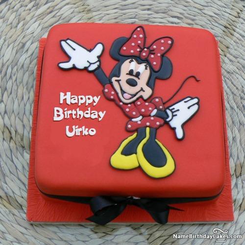 Happy Birthday Uirko Cakes, Cards, Wishes