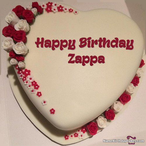 Happy Birthday Zappa Cakes, Cards, Wishes
