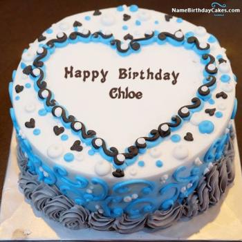 Happy Birthday Cake Chloe Png