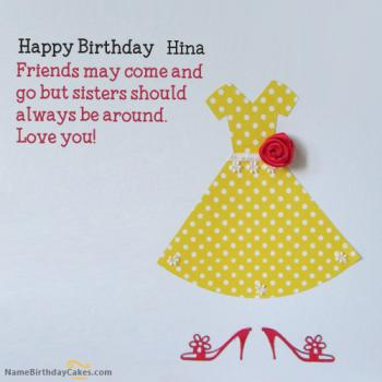 Happy Birthday Hina Video And Images