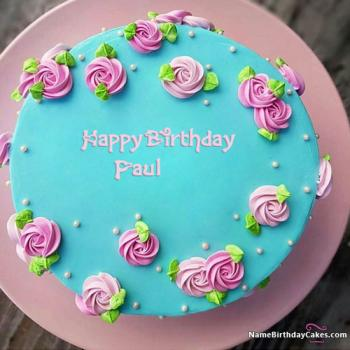 Happy Birthday Paul Cake images