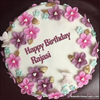 happy birthday Rajasi cake