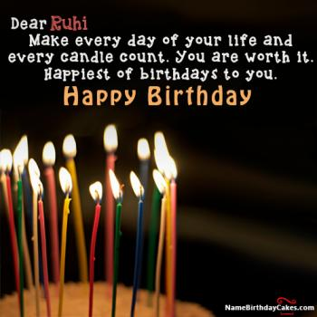 Happy Birthday Ruhi Video And Images