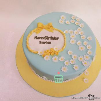 Happy Birthday Stephen Cake images