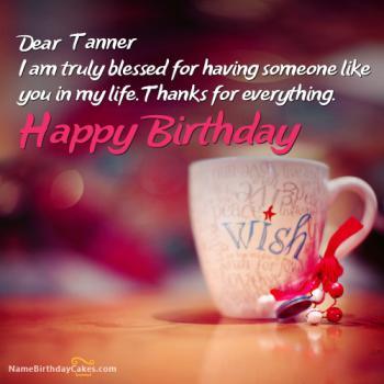 Happy Birthday Tanner pics