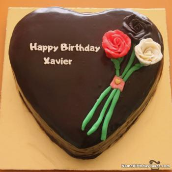 Happy Birthday Xavier Cake