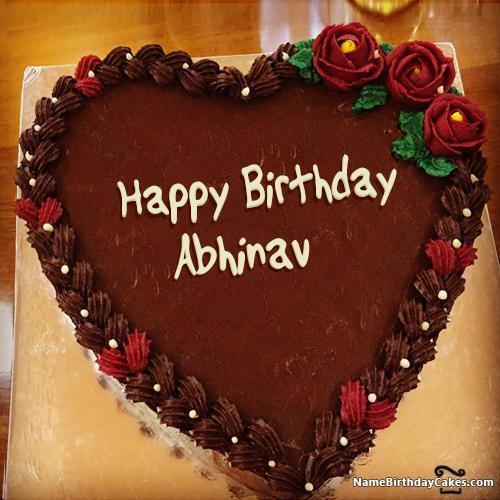 Happy Birthday Abhinav Cake Download Share