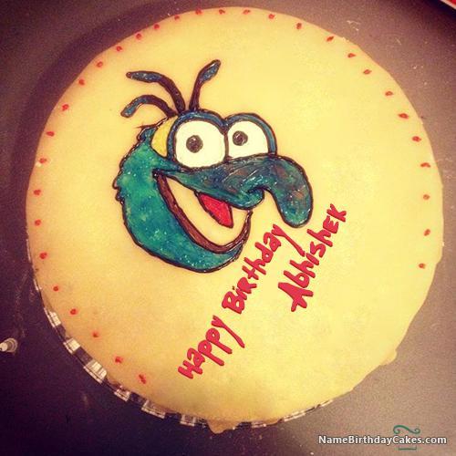 Happy Birthday Abhishek Cake Download Share