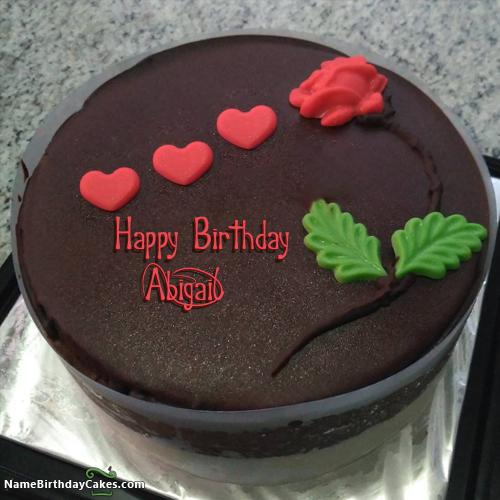 Happy Birthday Abigail Cake Images Download Amp Share
