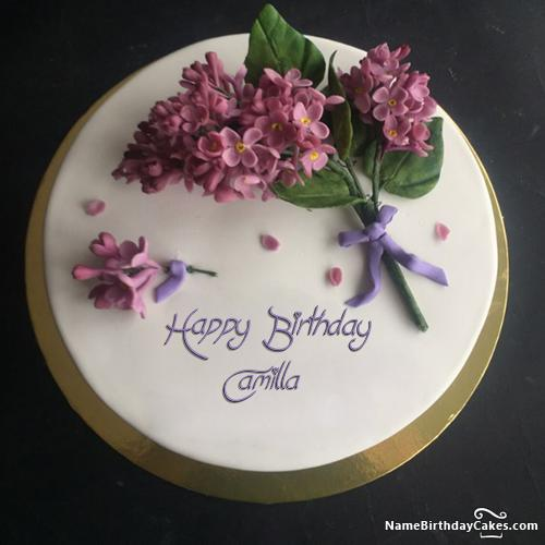 Happy Birthday Camilla Cake Download Amp Share