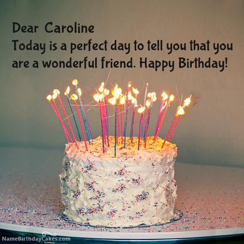 Happy Birthday Caroline Images