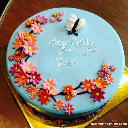 Happy Birthday Danish Cake Images