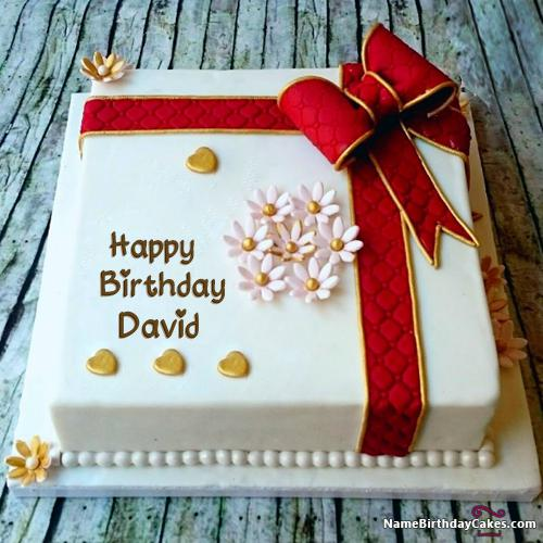 Happy Birthday David Cake Download Amp Share