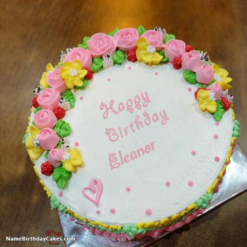 Happy Birthday Eleanor Cake Images Download Amp Share