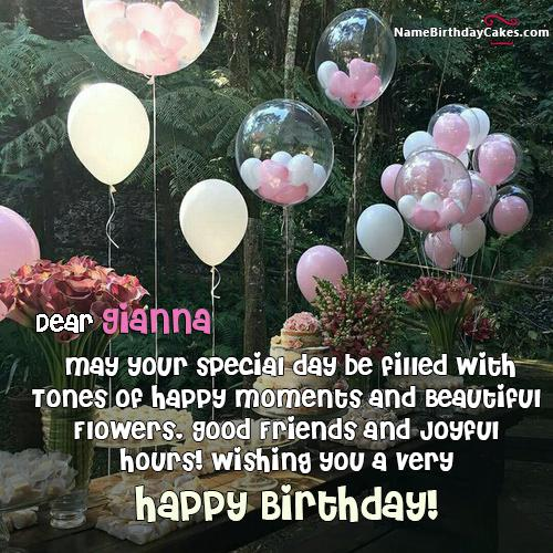 Happy Birthday Gianna Pics